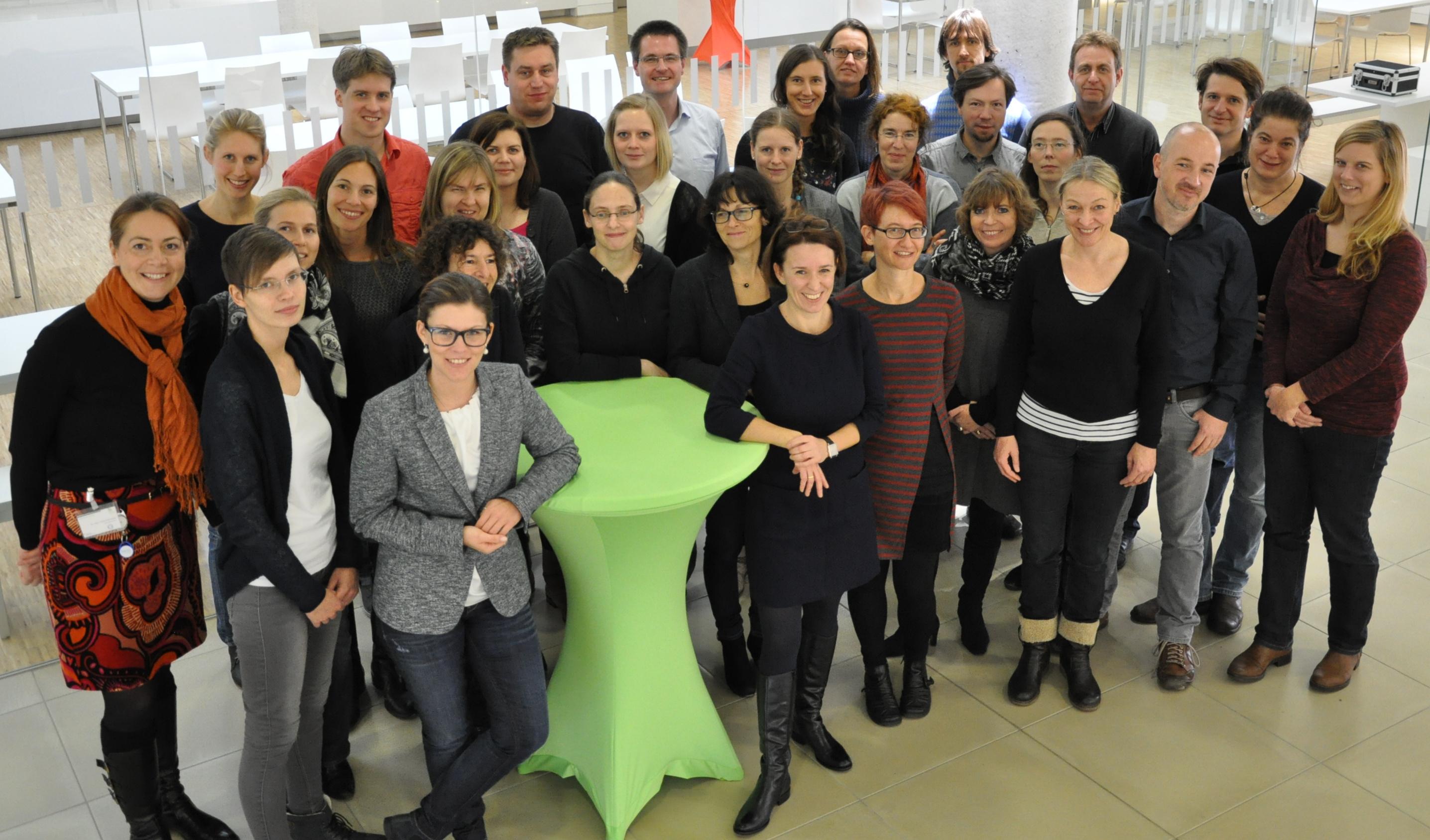 Treffen der Studienzenrumsleiterinnen und -leiter in Hannover (Dezember 2015)