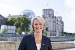 Bundesforschungsministerin Anja Karliczek. Bild: Rauß Fotografie