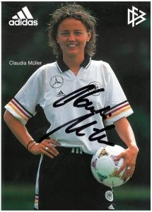 Autogrammkarte_Claudia_Müller